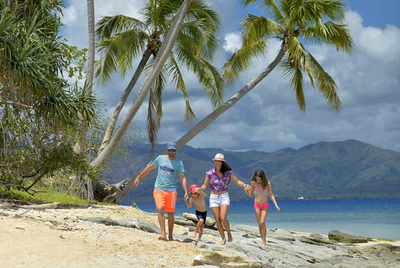 Family holidays New Caledonia